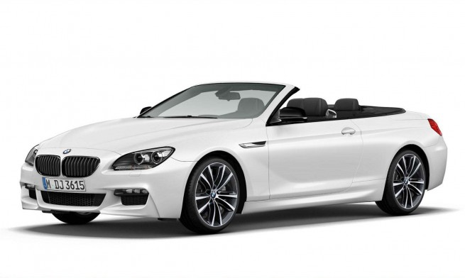 BMW 6 series frozen brilliant white edition